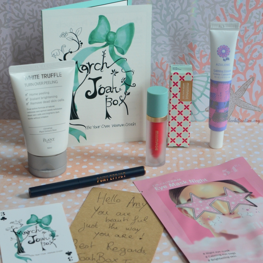 [JOAH BOX] MARCH 2019 EDITION