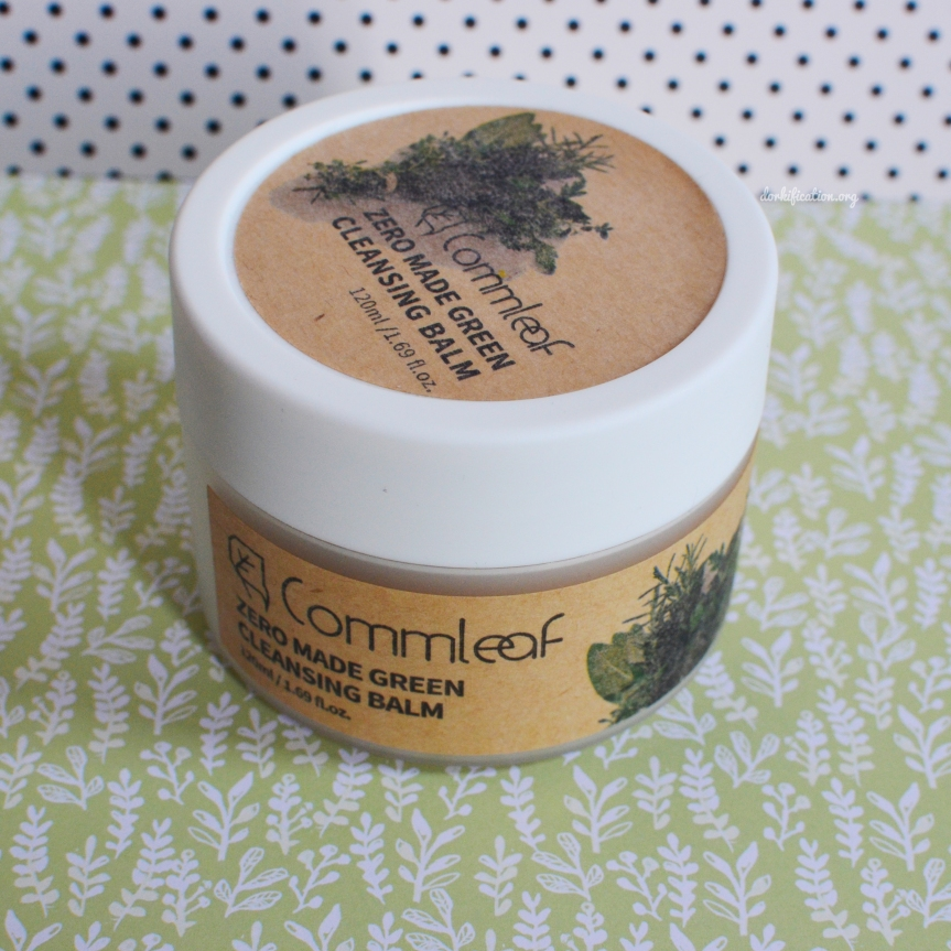 [REVIEW] Commleaf Zero Made Green Cleansing Balm