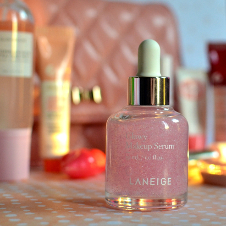 [REVIEW] LANEIGE GLOWY MAKEUP SERUM