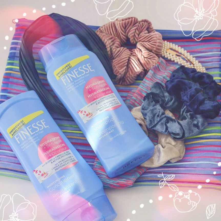 FINESSE HYDRATION + SOFTNESS SHAMPOO & CONDITIONER