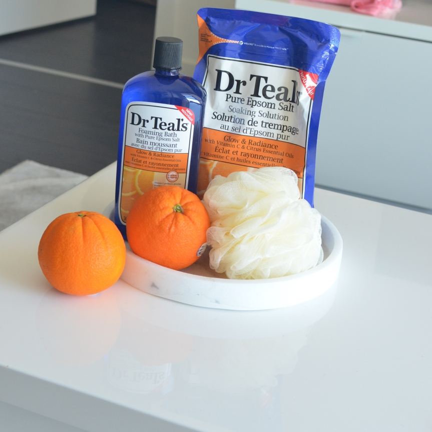 Pamper Yourself with Dr. Teal's Vitamin C Line